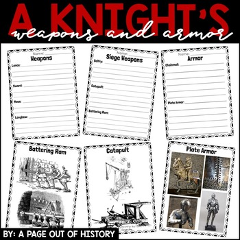 A Knight's Weapons and Armor