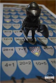 Knight's Division Quest - Division Math Game for 2nd-4th Graders