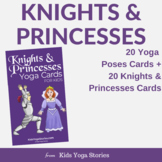 Knights & Princesses Yoga Cards for Kids