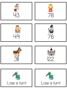 Knight's Quest Math Folder Game - Common Core - Rounding to Nearest 10th