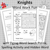 Knights Word Work Fun