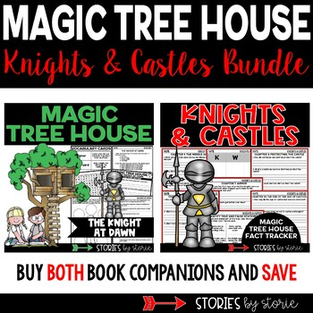 Knights and Castles Magic Tree House Bundle