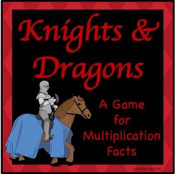 FREE Knights and Dragons: A Game for Practising Multiplication Math Facts