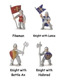 Medieval Knights Cards