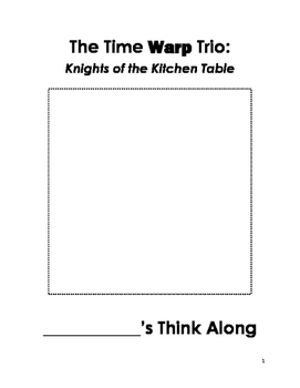 Knights of the Kitchen Table Think Along