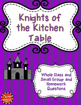 Knights of the Kitchen Table Discussion Questions