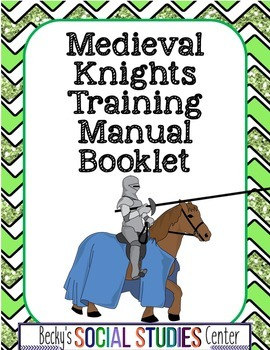 Knights of the Middle Ages Training Manual Booklet Project