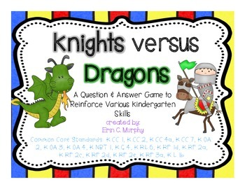 Knights versus Dragons DownTime Fillers