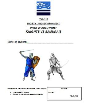 Knights vs Samurais - Medieval History - Yr 8 Australian Curriculum