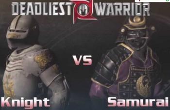 Knights vs Samurais - Medieval History - Yr 8 Australian C