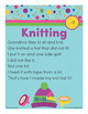 Knitting - it Word Family Poem of the Week