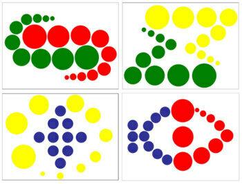 Knobless Cylinder Pattern Cards - Set 2