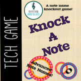 Knock A Note - A Knockout Note Name Game: Advanced Note Na
