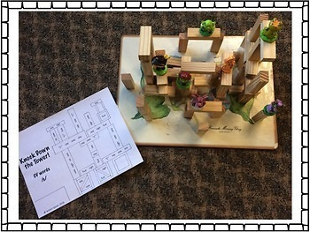 Knock Down the Tower: Levelled Worksheets for /f, v, th/