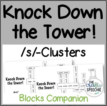 Knock Down the Tower: Levelled Worksheets for /s/-Clusters
