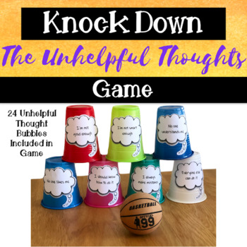Knock Down! the Unhelpful Thoughts: CBT Based Game for KIDS & TEENS