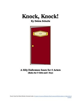 Knock, Knock (A Scari-Comedy Play for Halloween)