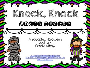 Knock, Knock: An Adapted Halloween Book