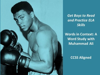 Knock Out Context Clues with Muhammad Ali: CCSS Aligned