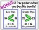 Knock Out Task Cards 1st Grade BUNDLE