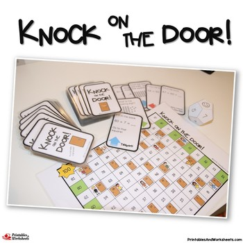 Knock on the Door - Tens and Ones, Place Value Games Grade 1-2