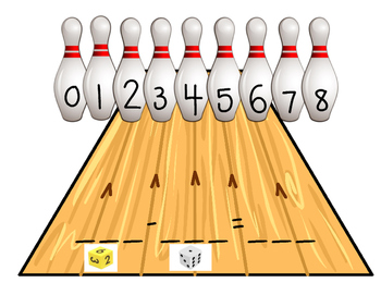 Knock them Down- A Bowling Subtraction Game