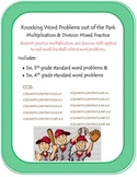 Knocking Word Problems out of the Park: multiplication and