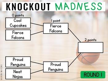 Knockout Bracket Madness {Math & Literacy Tournament Game}
