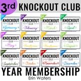 3rd Grade Math Game Club [Knockout Year Membership]