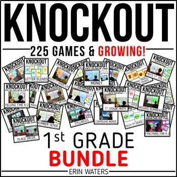 Knockout FIRST GRADE GROWING Bundle {All 260+ Games}