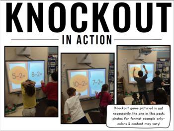 Knockout LANGUAGE ARTS MEGA Bundle {K-3 All 100+ Games}