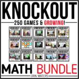 Math Game Bundle {All 250+ Math Knockout Games}