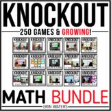 Math Game Bundle {All 250+ Math Knockout Games}