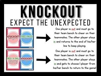 Knockout MEGA Bundle {K-3 All 350+ Games}