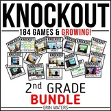 Knockout SECOND GRADE GROWING Bundle {All 150+ Games}