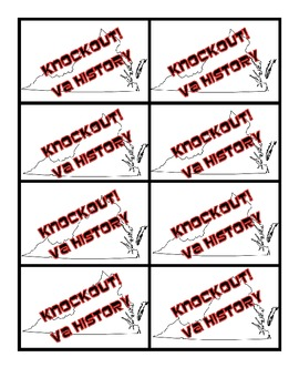 Knockout Virginia History!  VS.3a-f