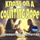 Knots on a Counting Rope Differentiated Interactive Notebook Reading Activities