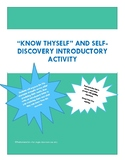 Know Thyself and Self Discovery First Day Activity