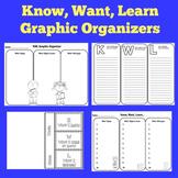 KWL Chart Templates