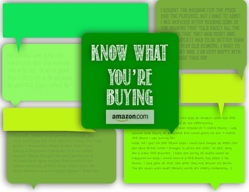 Know What You're Buying Amazon.com -Common Core Reading and Writing