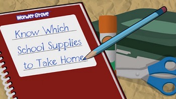 Know Which School Supplies to Take Home Pre K-K