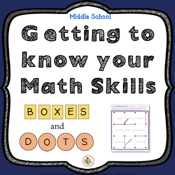Know Your Important Math Skills?  Boxes and Dots