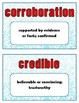 Know Your News: Media Literacy Word Wall for the Library or Classroom