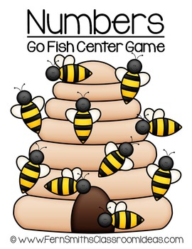 Know Your Numbers Tons of Fun Bee Hive Go Fish Center Game Dollar Deal