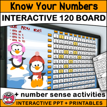Know Your Numbers to 120 with Percy and Patricia