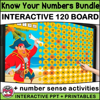 Know Your Numbers with Pirate Pete (Numbers to 120)