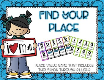 Know Your Place! Place Value Game