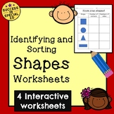 Math - Know Your Shapes Worksheet