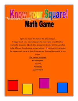 Know Your Square Game