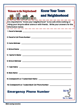 Know Your Town: Safety Contacts and Information